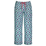 Women's Organic Cotton Capris Pajama Pants