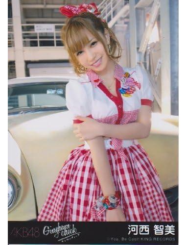 AKB48生写真 ギンガムチェック劇場盤【河西智美】