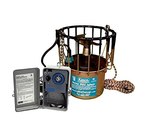 Kasco-Deicer-2400d25-w-C-20-Timer-Thermostat-Controller-12-HP-25-FT-CORD