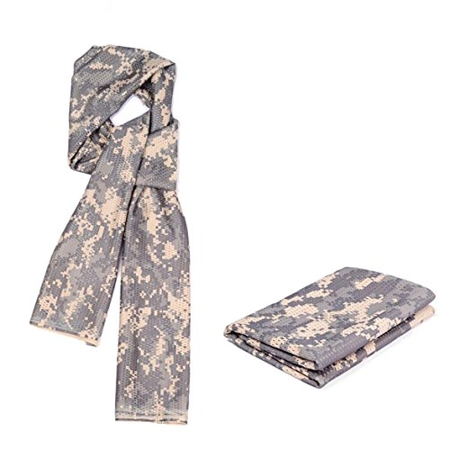 Cheapest Prices! Tactical Camo Scarf For Wargame,Sports & Other Outdoor Activities