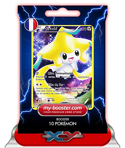 JIRACHI holo FULL ART XY112 70PV XY09 - Booster de 10 cartes Pokemon francaises my-booster