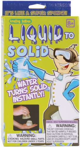 Mad Science Turn Liquid To Solid Kit-