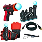 DreamGear (DGPS3-3822) 6 In 1 Starter Kit for PS3 Move