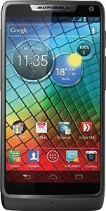 Motorola RAZR i Smartphone (10,9 cm (4,3 Zoll) Touchscreen, 8 Megapixel Kamera, 8GB Speicher, micro-USB, Android 4.1) schwarz