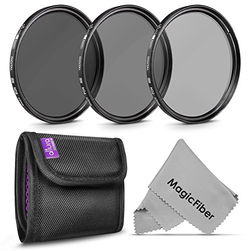 62MM Altura Photo Neutral Density Professional Photography Filter Set (ND2 ND4 ND8) for PENTAX (K-30 K-50 K-5 K-5 II K-500 K-r K-x) with a 18-135mm F3.5-5.6 AL zoom Lens and SONY Alpha (A99 A77 A65 A58 A57 A55 A390 A100) with a 18-135mm f/3.5-5.6 Zoom Lens (Nd Filter 62mm compare prices)