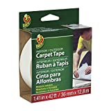 Duck Brand 392907 Indoor/Outdoor Carpet Tape, 1.41-Inch x 42 Feet, Single Roll