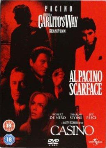 SCARFACE/CARLITO'S WAY/CASINO [IMPORT ANGLAIS] (IMPORT)  (COFFRET DE 3 DVD)