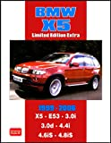 R.M. Clarke BMW X5 Limited Edition Extra 1999-2006 (Brooklands Books Road Test Series): Models Reported On: X5 E53 3.0i 3.0d 4.4i 4.6iS 4.8iS