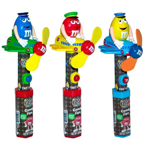 M&M's ディスペンサー M&M Airplane Fan