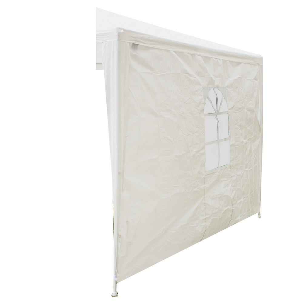 Siena Garden 491105 Seitenteil Pavillon Sahara mit Fenster PE-Bändchengewebe weiß bestellen
