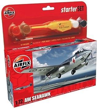 Airfix - A50083 - Maquette - Small Starter Set - Sea Hawk