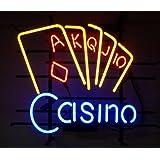Neonetics 5CASIN Casino Neon Business Sign