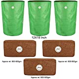 Kraft Seeds Poly Grow Bags With Agropeat Brick