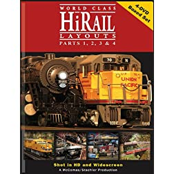 Hi-Rail Layouts 4 DVD Boxed Set