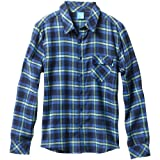enjoi Two Of These Flannel Shirt Blue