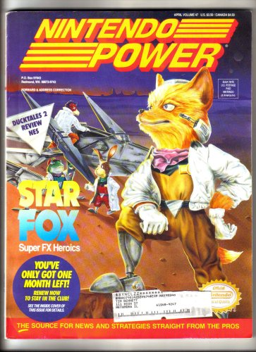Nintendo Power Magazine - Star Fox (Volume 47) (Super Tennis Snes compare prices)