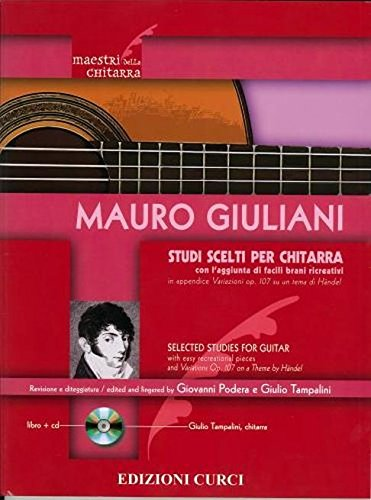 Studi Scelti Per Chitarra+CD