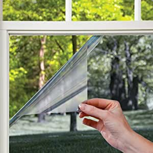Gila Window Films LES361 Heat Control Residential Window Film, Platinum, 36-Inch by 15-Feet
