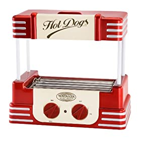 Nostalgia RHD-800 Retro Hot-Dog Roller