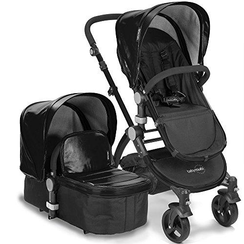 babyroues Letour Lux IIB Stroller, Black - 1