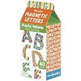 Mudpuppy Wooden Magnetic Playful Patterns Letters
