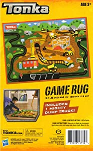 Tonka Game Rug Gravel Pit Includes 1 Mighty Dump Truck from G.A. Gertmenian & Sons