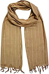Sahiba Creation trendy and colourful women stole for all time wear(light brown)