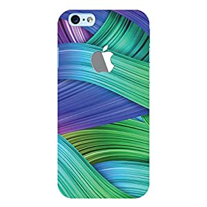 ColourCrust New Apple iPhone 6 with Logo Mobile Phone Back Cover With Abstract Art - Durable Matte Finish Hard Plastic Slim Case