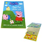 Peppa Pig's Reusable Sticker Pad (Pack of 1)