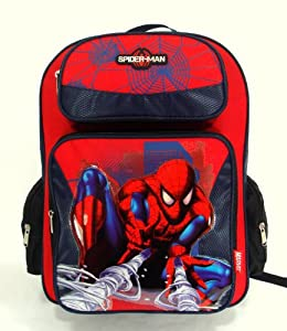 "Marvel Spider-Man Great Power 16"" Large Backpack"
