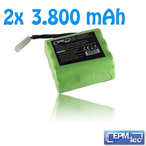 2x-Akku-3800mAh-72V-fr-Neato-XV-11-XV-12-XV-15-XV21-XV25-945-0005-945-0006-XV-Essential-38A