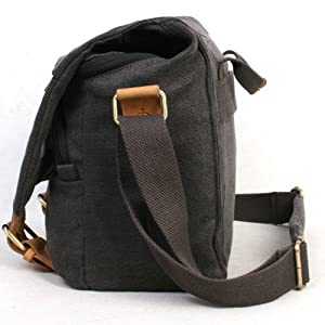 Koolertron Fashionable Canvas Shoulder Camera Bag