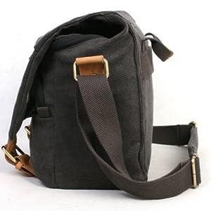 Koolertron Fashionable Canvas Shoulder Camera Bag
