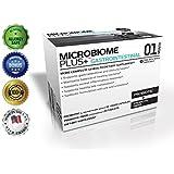 Microbiome Plus+ Gastrointestinal Probiotics L Reuteri NCIMB 30242 and Prebiotics scFOS, GI Digestive Supplements, Allergy Safe & Gluten Free for Men and Women (1 Month Supply)