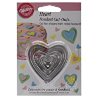 Fondant Heart Cut Outs