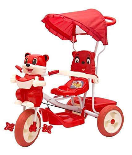 Sarthi Tricycles Bajaj Kitty Tricycle (Red)