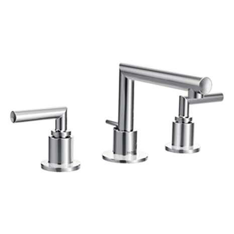 Moen TS43002 Arris Two-Handle Bathroom Faucet, Chrome