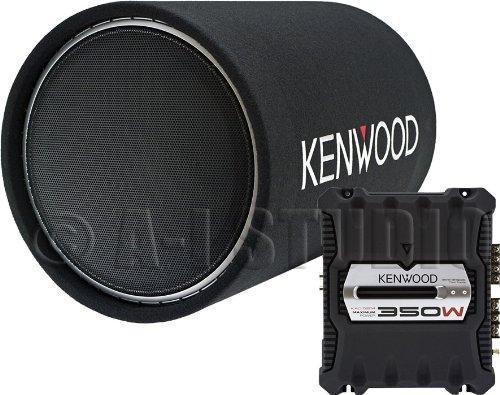 Kenwood P-W12Tb 350-Watt Amplifier/Subwoofer Package