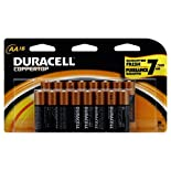 Duracell Coppertop Batteries, Alkaline, AA, 16 batteries
