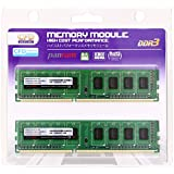 CFD-Panram デスクトップ用 DDR3 1333 Long-DIMM 2GB 2枚組 CL9 W3U1333PS-2G
