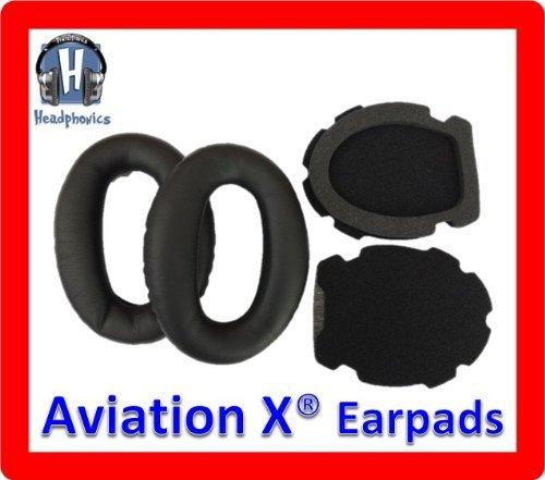 Headphonics Ear Pads For Bose Aviation Headset X<Sup>Tm</Sup> A10 Headphones