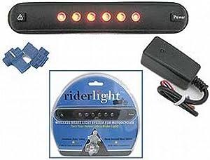 RIDERLIGHT WIRELESS BRAKE LIGHT SYSTEM FOR MOTORCYCLES