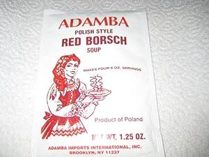 Adamba Imports international Soup Mix, Red Borscht, 1.25-Ounce (Pack of 24)