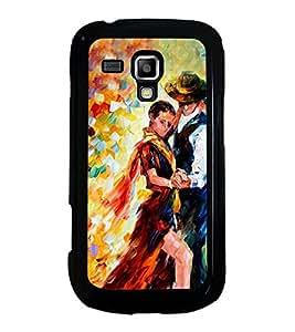 Printvisa Ultra Dancing Couple 2D Hard Polycarbonate Designer Back Case Cover for Samsung Gal...