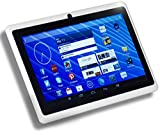 "DeerBrook® 7"" Android 4.4 KitKat Tablet PC, Dual Core 1.5GHz A23 Processor, 512MB / 4GB, Dual Camera, Bluetooth, G-Sensor (White)"