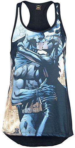 Batman Batman Catwoman Kiss Top donna multicolore S