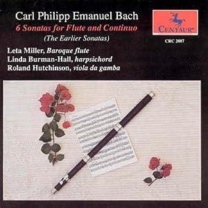 Bach,C:6 Sonatas for Flute & Continuo