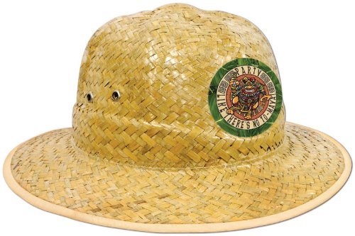 Beistle Company Mens Party Like There's No To-Maya Straw Hat
