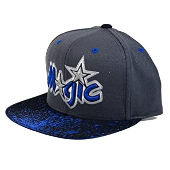 Orlando Magic Mitchell & Ness NBA Splatter Snapback Hat by Mitchell & Ness