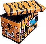 Bieco-04201308-Staubox-Sitzbank-Safari-circa-49-x-31-x-31-cm